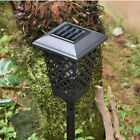 Solar Powered Outdoor Mosquito Fly Bug Insect Zapper Killer Trap Lamp Light US