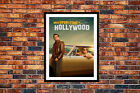 Once Upon a Time in Hollywood Movie Poster 2019 Wall Art Maxi Prints Cinema
