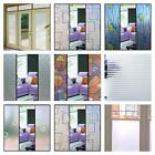 Frosted Window Film Privacy Glass Doors Curtains Decorative Sticker DIY material