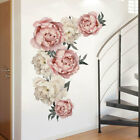 Vintage Rose Flower Tree Wall Stickers Removable Decal D I Y Art Home Decoration