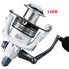 Spinning Fishing Reel 14BB Ball Bearing Freshwater Saltwater Left Right Hand USA $14.99 USD on eBay