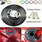 Motorbike Billet Fuel Tank Cover Petrol Gas Cap For Honda VTR1000 SP-2 2000 +