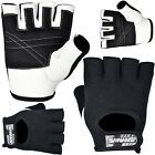 SAWANS Half Finger Cycling Gloves Bus Driving Wheelchair Fingerless Bike Leather
