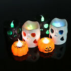 Home Decor Tips For Living Room Pumpkin Skull Candle Lights Halloween Decoration Lights Warm  Home DecoratiJB