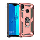For Huawei Mate 20 X Pro Hybrid Armor 360° Ring Stand Hard Shockproof Case Cover