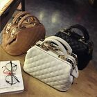 Small Mini Faux Leather Handheld Bag Crossbody Purse Doctor Style Top Hanle