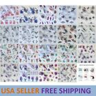 Nail Art Water Transfer Sticker Flower Floral Butterfly Decals YZW USA Seller for sale  Katy