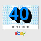 Kyпить eBay Digital Gift Card - Happy 40th Birthday -  Email delivery на еВаy.соm
