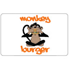 Monkey Burger Gift Card - $25 $50 or $100 - Email delivery