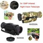 Night Vision 5X35 13MP HD Infrared Monocular Telescope Hunting Camping Hiking