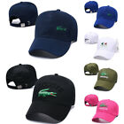New Men Women Baseball Cap Sport Adjustable Golf Hat Embroidery Laco-sate Unisex