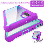 For Samsung Galaxy Note 10 Plus Shockproof Hybrid Rugged Heavy Duty Case Cover