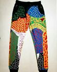 Brand New Ron Bass Men's multiple patterned colorful power jogger pants RARE