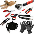 Pet Dog Nail Claw Clipper Grooming Comb Glove Car Seat Belt Training Leash Lead
