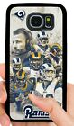 LOS ANGELES RAMS PHONE CASE FOR SAMSUNG NOTE GALAXY S6 S7 EDGE S8 S9 S10 E PLUS $19.99 USD on eBay