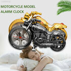 D9A0 ABS Creative Antique Motorcycle Alarm Clock Motorcycle Horologium Office