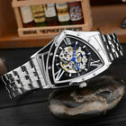 Luxury Men Automatic Mechanical Wrist Watch Triangular Dial Business Watches New image