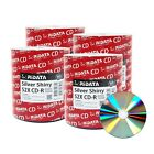 Ridata CD-R CDR 52X 700MB/80Min Silver Shiny Non-Printable Blank Recordable Disc
