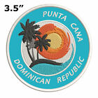 """Punta Cana Dominican Republic 3.5"""" Embroidered Iron or Sew-on Patch Souvenir"""
