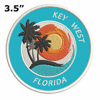 """Key West Florida 3.5"""" Embroidered Patch Iron / Sew-On Decorative Gear Applique"""
