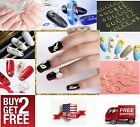 3D Gold Metal DIY Nail Art Tips Decal Slices Decoration 10/20pcs*BUY2 GET 2 FREE $1.45 USD on eBay
