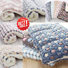Dog Cat Puppy Pet Plush Blanket Mat Warm Sleeping Soft Bed Blankets Supply 2019