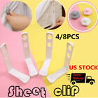 4/8PCS Bed Sheet Fasteners Mattress Cover Gripper Clip Fastener Grip Peg Holder image