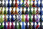 New Classic Ties Striped JACQUARD WOVEN 100 Silk Men's Tie Necktie