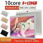 """10.1"""" Inch Tablet Pc Android 8.0 8+128gb Ten Core Wifi Dual Sim Camera Bluetooth"""