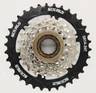 MOUTAIN BIKE 7 SPEED MEGA RANGE FREEWHEEL COGS 14T - 34T WORKS WITH SHIMANO,