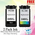 PG-245XL CL-246XL Ink Set for Canon PIXMA TS3122 MX490 MX492 MG3022 MG2520 MX495