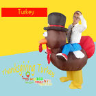 Inflatable Animal Chick Chicken Mascot Costume Thanksgiving Turkey Suit Hen/Cock