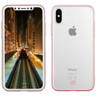 MOMAX Glossy Case For Apple iPhone X Shockproof Protective Cover With Ring Stand