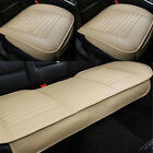 Car Front Rear Seat Cover PU Leather Universal Seat Cushion Set Protector USCC $42.99 USD on eBay