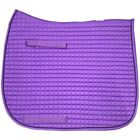 Pacific Rim Cotton Quilted Dressage Square Saddle Pad, w/Piping