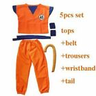 dragon ball z goku costume Suit Son Cosplay Costumes For Adult Kids children boy