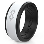 Kyпить Silicone Wedding Ring for Men by Rinfit. Soft Men's Rubber bands. на еВаy.соm