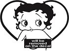 Betty Boop Sticker Vinyl Decal All Colours - Betty028 £3.99 GBP on eBay