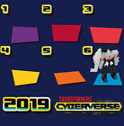 McDonald's Russia Toy Happy Meal 2019 Transformers Cyberverse
