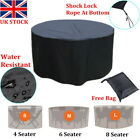 New4-10seater Waterproof Outdoor Furniture Cover Garden Patio Rattan Table Cover