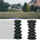 Garden Fence Chain Link Mesh Fence Fencing Roll Galvanized Steel Wire Border