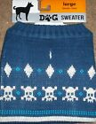 Winter Dog Puppy Sweater sz L for Labradors or Boxers