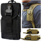 Outdoor Universal Army Bag Cell Phone Camping Belt Loop Hook Case Pouch Holste
