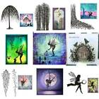 Fairy Tree Silicone Clear Seal Stamp Scrapbooking Embossing Photo Album Decors