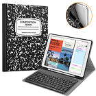 For iPad Pro 12.9 2nd Gen 2017 Case Slim Shell Cover with Bluetooth Keyboard