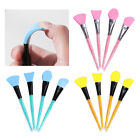 MagiDeal 4Pcs Professional Makeup Silicone Brush Facial Mask Mud Mixing Tool