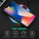 Fast Qi Wireless Charger Charging Pad+Receiver Kit Fits iPhone 5S 6 6S 7 8Plus X