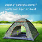 Outdoor Camping Tent Waterproof Automatic Instant Pop-Up Windproof Wigwam US