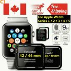 Full Cover Premium Tempered Glass Screen Protector Apple Watch Series 1 2 3 4 5