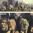 """55W""""x20H"""" NOAH'S ARK by HARUO TAKINO - MOSES ANIMAL KINGDOM - CHOICES of CANVAS"""